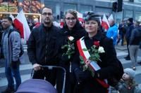 Marsz Niepodległości 2018 Kasia i Krystian z Krakowa z Bogusławą Sieroszewską