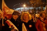 Marsz Niepodległości 2018 Bogusława Sieroszewska i Magdalena Piotrowska