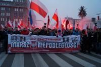 Marsz Niepodległości 2018 foto Bogusława Sieroszewska