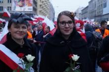 Marsz Niepodległości 2018 moda kobieca sprzed 100 lat