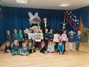 spotkanie z historią Briggsów w przedszkolu w Markach Pustelniku
