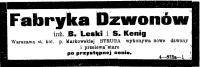 27_FABRYKA_DZWONÓW_STRUGA_KURIER_LITEWSKI_NR_181_12_08_1906_WILNO
