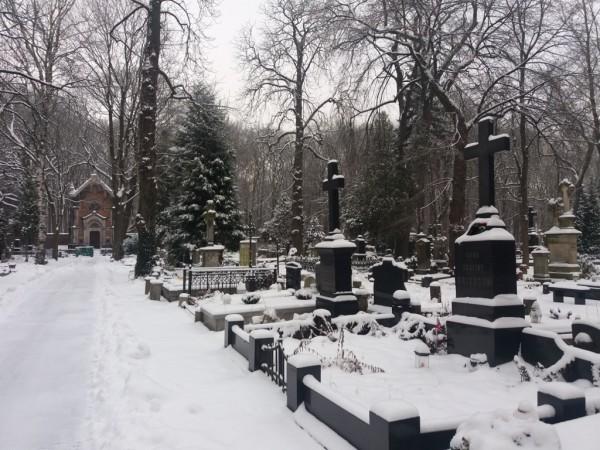 Cmentarz Ewangelicko Augsburski kościoła św Trójcy