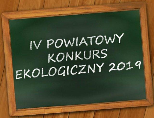 Markinetpl Iv Powiatowy Konkurs Ekologiczny