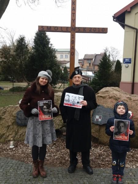 Marki pomnik Smoleńsko- katyński