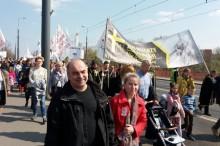 Marsz Świętości Życia    Elżbieta i Czesław Zachłowscy z Marek