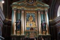 Ołtarz kościoła św. Apostołów Filipa i Jakuba w Osielcu