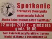 Spotkanie w Markach 12 maja 2019
