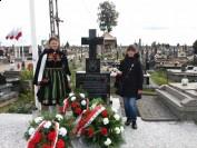 Grób ostatniego Żołnierza Wyklętego - chor Antoniego Dołęgi ps Kulawy Antek na cmentarzu w Trzebieszowie