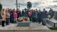 Grób ostatniego Żołnierza Wyklętego ppor. Antoniego Dołęgi w Trzebieszowie 2019