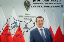 Prof Jan Żaryn kandydat PiS do Senatu