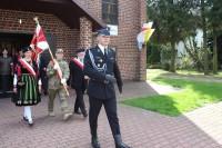 poczet sztandarowy AK Warszawa Wschód