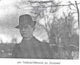 por. Tadeusz Marczak ps. Kurzawa
