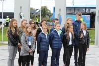 uczniowie Szkoły Podstawowej im ks bp Junoszy Szaniawskiego w Szaniawie