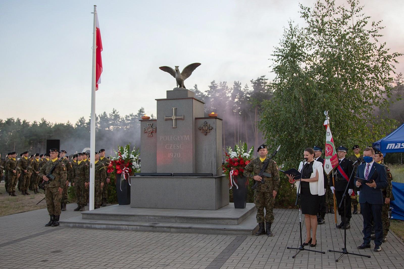 Obchody 100-lecia Bitwy Warszawskiej w Markach